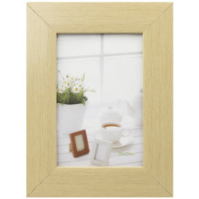 Wooden Color Plastic Photo Frame In 10x15cm
