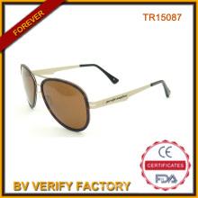 Lunettes de soleil personnalisés avec Tr90 matérielle Tr15087