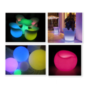 Outdoor Furniture LED Furniture Light LED Bar Table and Chairs