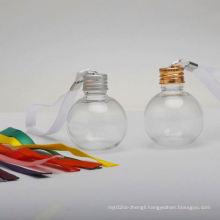 Glitter Filling Printed Colour Plastic Clear Silver Glass Gaint Photo Half Drink 10Cm Open 3Cm Baubles Gin 8Cm Bauble baubles