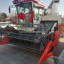 Hidrolik transmisi statis self-propelled rice harvester