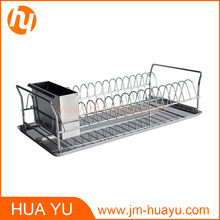 Estante de plato de cocina Estante de secado de plato de cocina de acero inoxidable de alta calidad