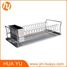 Support de vaisselle de cuisine de haute qualité Support de séchage de cuisine durable en acier inoxydable