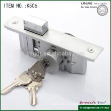 Nuevo tipo de seguridad de metal del gabinete cerradura de puerta corredera