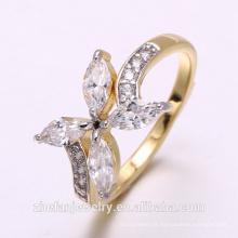 2018 ZheFan Novo anel de noivado de borboleta