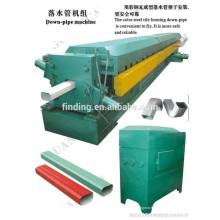 Stahl Fallleitung roll forming Maschine Wasser Rohr Profiliermaschine in China hergestellt