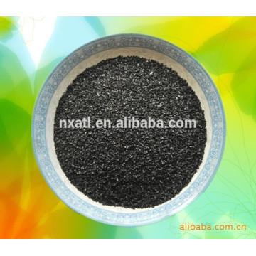Carvão ativado para processamento de águas residuais