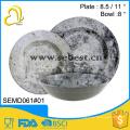 гарантия качества пластмассы ODM изготовленный на заказ сделана посуда наборы