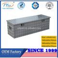 boîte à outils de camion en aluminium de profil bas OEM de haute qualité