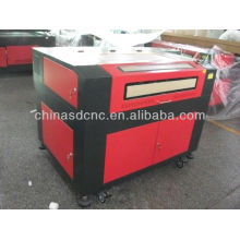 professional 6090 laser engraving machine/cheap laser engraver with sealed co2 Reci laser tube 80w