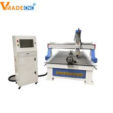Máquina de talla de madera de enrutador CNC de husillo múltiple