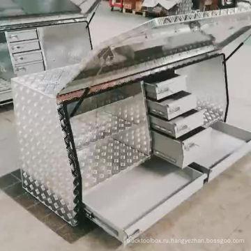 металлические алюминиевые ящики для грузовиков ящик для инструментов ute металлические алюминиевые ящики для грузовиков ящик для инструментов ute