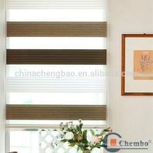 Moderna decoración de la casa estilo de Corea rayas cebra persianas enrollables