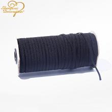 Venda Por Atacado 5MM elástico rendas fita plana cabo corda elástico elástico fábrica de cordas fornecedor