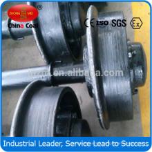 500mm gauge/300mm diameter mining car steel wheel