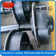 Roda do aço do carro de mineração do calibre do diâmetro de 500mm / 300mm