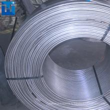 Alliage de silicium de calcium / fil fourré de Ca Si pour la sidérurgie