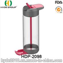 700ml Customized Tritan BPA Free Water Bottle, Wholesale Plastic Water Bottle (HDP-2098)