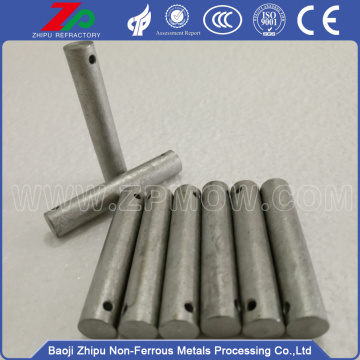 Molybdenum machined parts of induction furnace