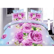 Комплект постельных принадлежностей одеяла короля размера 4pcs дешевых установленный Nantong