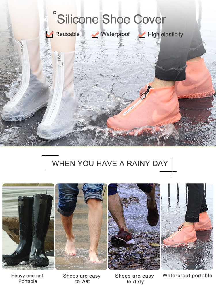 Durable Rain Shoe Cover