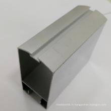Profilé d'extrusion en aluminium 6063 pour portes et fenêtres