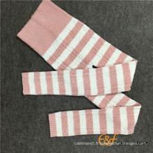 Loam Yarn Haramaki Cable Long Pantalon Tricoté
