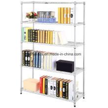 2016 Modern Design Metal Material Wire Bibliothèque Système d'étagères