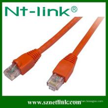 Cable / cable de conexión de red Cat6 UTP coloridos