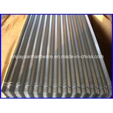 Hoja de acero galvanizado ondulado con embalaje estándar de exportación