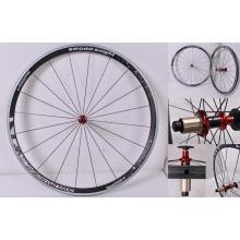 Juego de ruedas de fibra de carbono 700 C hecho a mano