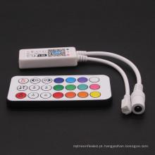 Controlador de controle remoto do diodo emissor de luz de WIFI RGBW de DC9-28V RF 21Key RF