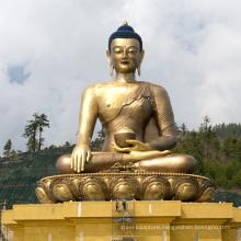 bronze casting foundry metal craft tall buddha statue for Shakyamuni