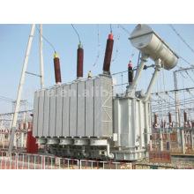 Transformador de energía inmerso en aceite de 220KV