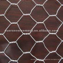 Malla de alambre hexagonal galvanizada de 1.5mm (fabricante de Anping)
