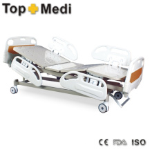 Topmedi Medical Equipment Five Function Electric Steel Hospital Bed