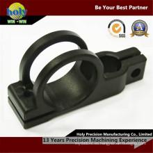 Piezas que trabajan a máquina negras anodizadoras del CNC / mecanizado de aluminio del CNC de la aduana