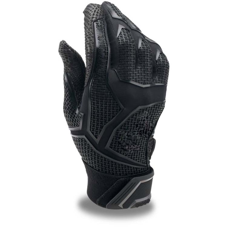 Black Batting Gloves