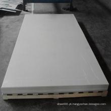 Folha plástica rígida fina do PVC de 1mm