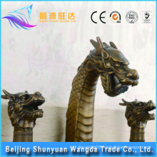2016 Hot sale antique shower basin dragon faucet