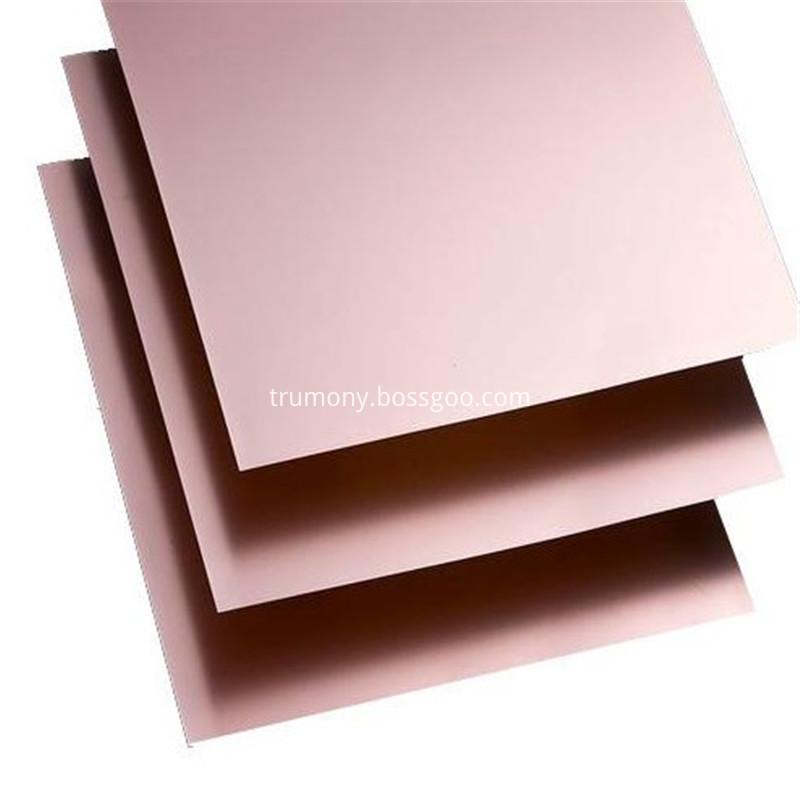 4047 H24 5052 H32 Aluminum Base Copper Clad Sheet04