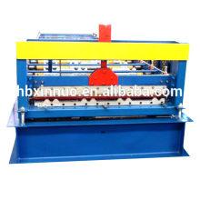 Botou XINNUO totalmente automático 988 metal techo de teja de acero fabricación de equipos / fabricación de la máquina para la venta