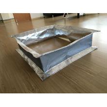 Accouplement flexible en fibre de verre revêtu de silicone