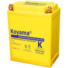 Batterie élevée de moteur de Preformace 12V 16ah (KBTX14AU)
