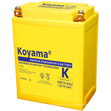 High Preformace Motor Battery 12V 16ah (KBTX14AU)