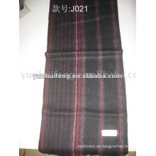 Gestreifter Kaschmir-Schal für den Export