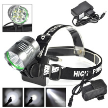 4PCS LED CREE U2 1500lm / 800m Rechargeable LED Head Lamp