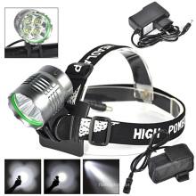 4PCS LED CREE U2 1500lm / 800m Lâmpada principal recarregável do diodo emissor de luz