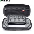 NS EVA Portable Voyage Protecteur Zip Dur Sac de Rangement pour Nintendo Commutateur avec 8 Fente pour carte de jeu