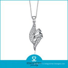 Чувствительные серебряные ювелирные изделия ожерелья (SH-N0127)